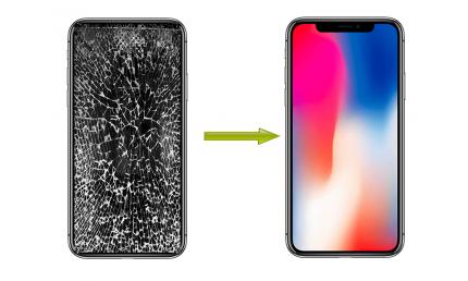 Thay mặt kính màn hình iphone x trực tiếp siêu nhanh tại đà nẵng