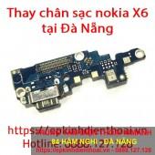 Sửa chân sạc điện thoại nokia X6 giá rẻ tại Đà Nẵng