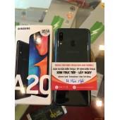 Samsung A20 nguyên ZIN còn bảo hành chính hãng đến hết năm 2020