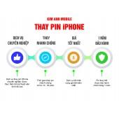 Bảng giá thay pin iPhone tại Đà Nẵng
